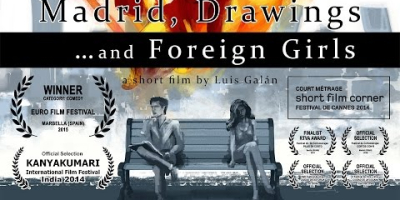 Madrid, Drawings... and Foreign Girls