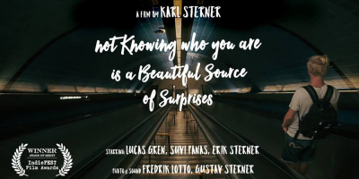 Not knowing who you are is a beautiful source of surprises