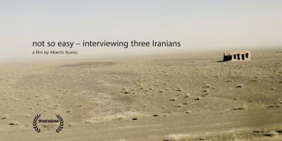 not so easy - interviewing three Iranians
