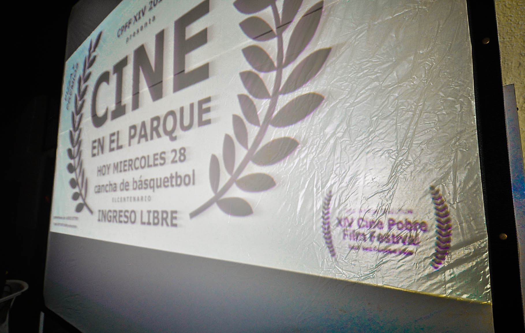 cine pobre screening Dec 28, 2016